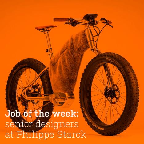 Job of the week: senior designers at Philippe Starck