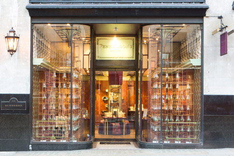 Penhaligons for RIBA Windows Project