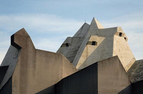 Brutalist buildings: Pilgrimage Church, Neviges by Gottfried Böhm