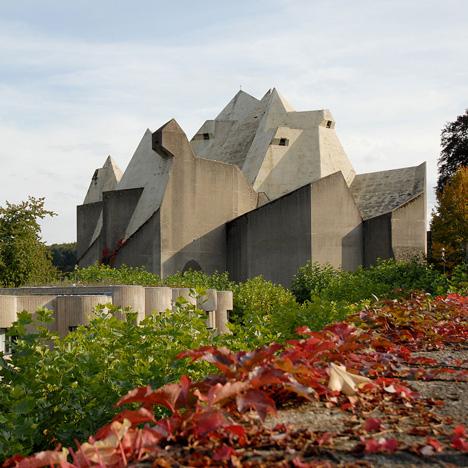 Pilgrimage Church by Gottfried Bohm