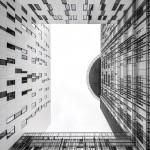 Lisbon police headquarters given monochrome geometric facades by Saraiva + Associados