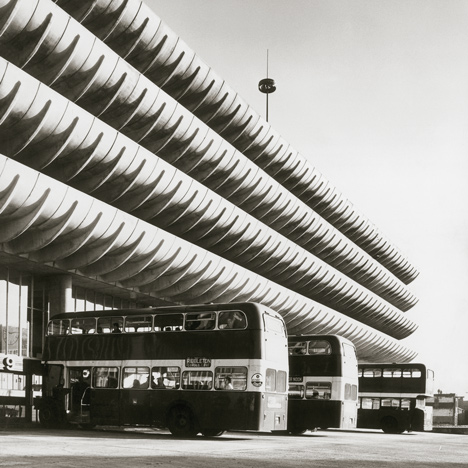 Brutalist buildings: Preston Bus Station<br /> by Building Design Partnership