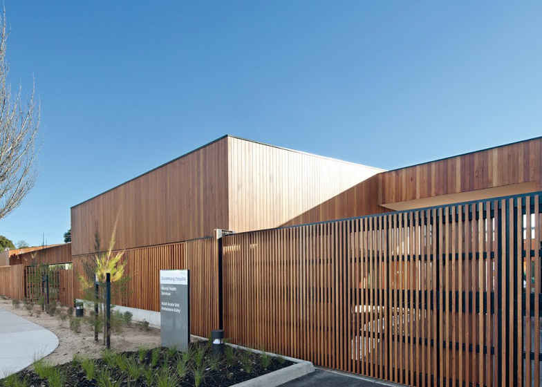 Dandenong Mental Health Facility by Bates Smart Irwin