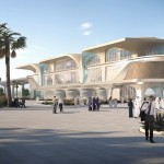 UNStudio introduces public trains to Qatar with metro project