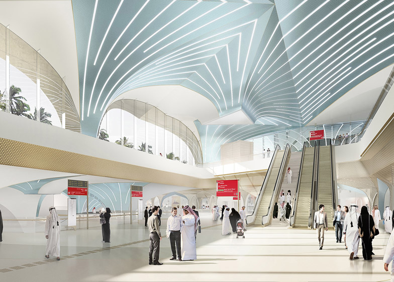 Qatar Integrated Railway by UNStudio