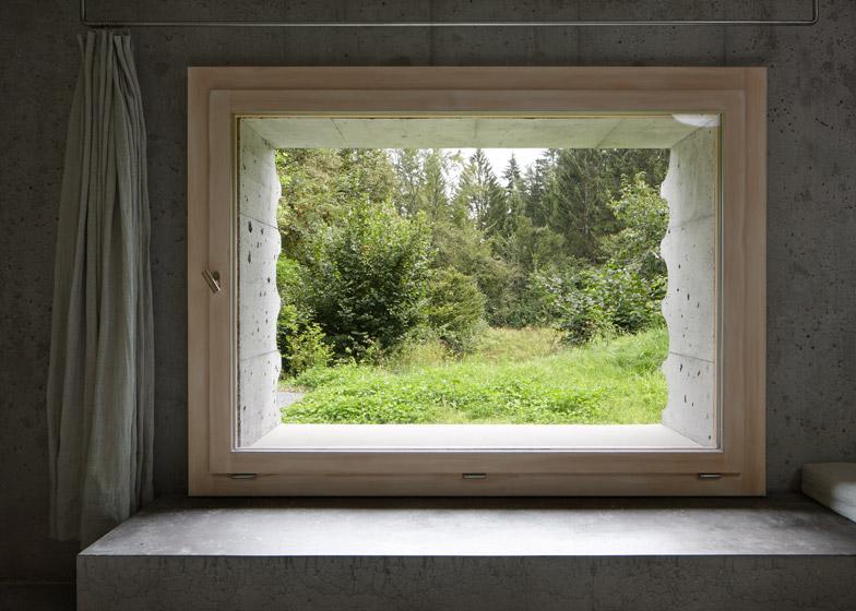 Refugi Lieptgas Concrete Cabin by Nickish Sano Walder Architects