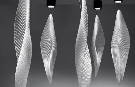 Ross Lovegrove Studio Cosmic Leaf for Artemide by Julia Koerner