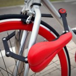 Seatylock is a bicycle seat that is also a removable bike lock