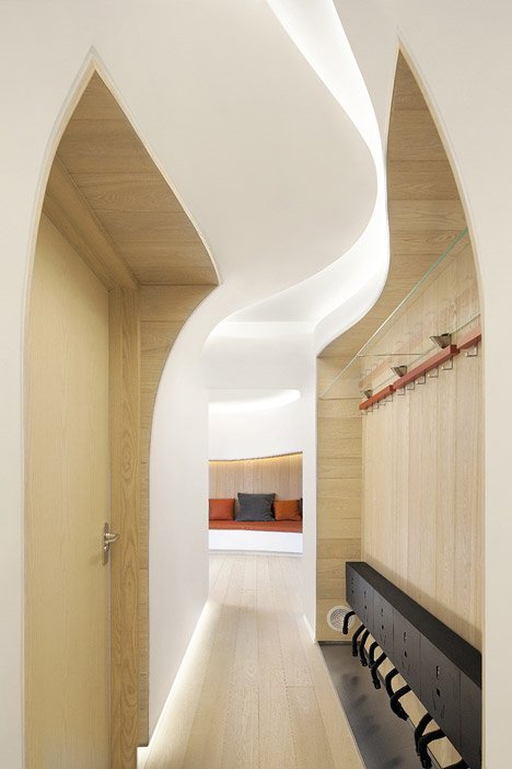 Snow Apartment by Penda