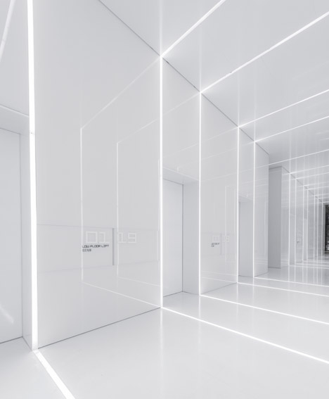 """Lighting Shop At Balestier Plaza: Aim Architecture Designs """"back To The Future"""" Interiors"""