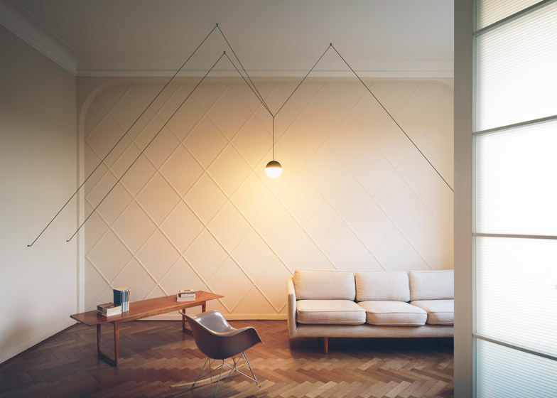 "Lighting has ""passed from electricity into electronics"" says Piero Gandini of Flos"