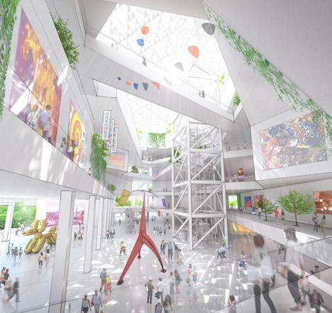Shigeru Ban wins contest to design Tainan Museum of Fine Arts