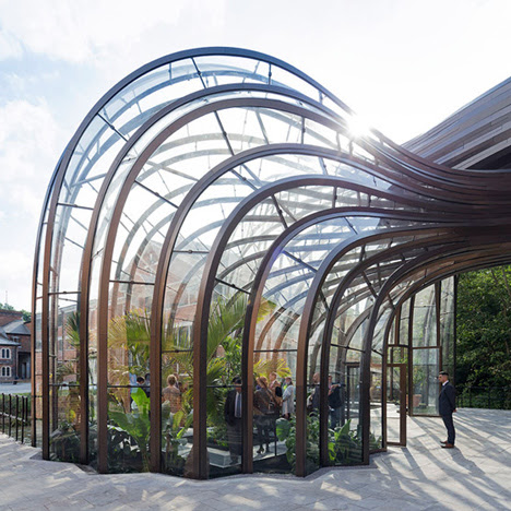 Thomas heatherwick's gin distillery for Bombay Sapphire architecture Dezeen