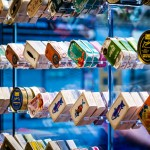 """Amanda Levete's Tincan restaurant presents tinned seafood as """"objects of desire"""""""