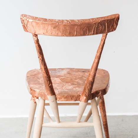 Tom Dixon's Ercol Originals stacking chair