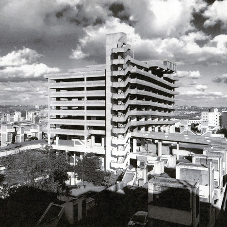 Brutalist buildings: Trinity Square car park by Owen Luder