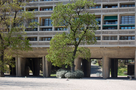 Unité d'Habitation by Le Corbusier. Photograph by Catrina Beevor