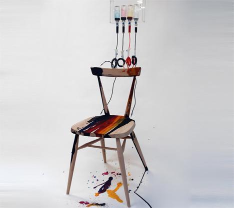 Afroditi Krassa drip chair for ecrol
