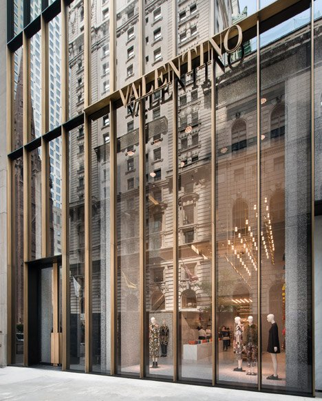 Valentino Flagship Store by David Chipperfield
