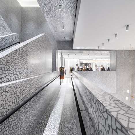 David Chipperfield's Valentino flagship<br /> store opens in New York