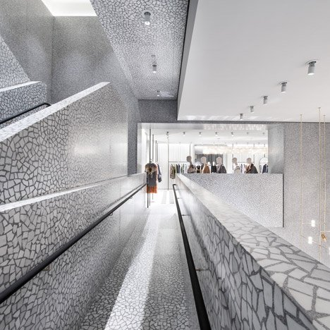 Chipperfield's New York flagship store for Valentino