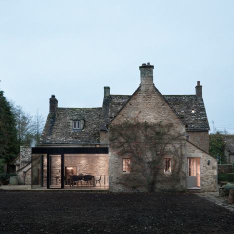 Eastabrook Architects and Jonathan Tuckey Design add glazed extension to Grade II-listed Yew Tree House