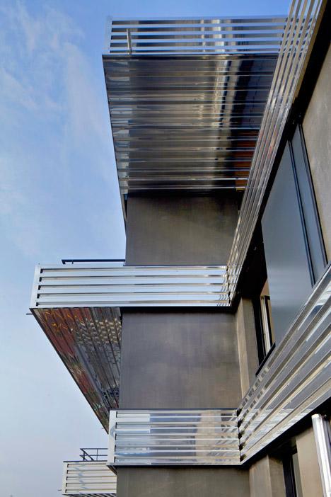 Zac de la Marine housing by Christophe Rousselle