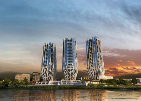 Toowong development by Zaha Hadid Architects
