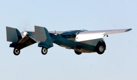 Aeromobil flying car