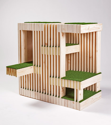 Architecture for Animals cat house by RNL