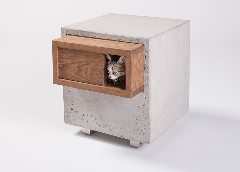 Architects for Animals cat house by Standard Architecture and Design