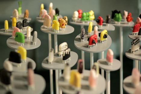 Design Taxonomy by Alexandra Daisy-Ginsberg at Dezeen and Mini Frontiers exhibition at London Design Festival 2014