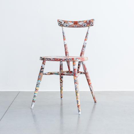 Kristjana S Williams' interpretation of the Ercol Originals stacking chair