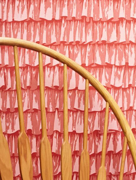 Frills Wallpaper by Eley Kishimoto