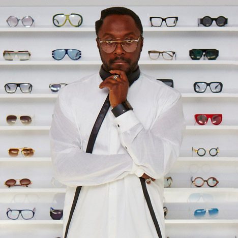 Will.i.am launches eyewear range<br /> with designer George Gorrow