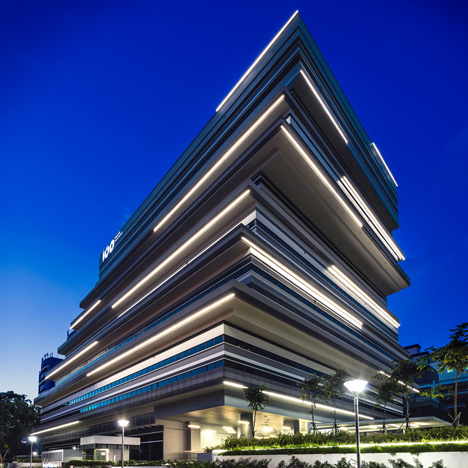 "Ministry of Design's 100PP joins a wave of ""edgy and interesting"" buildings for Singapore creatives"
