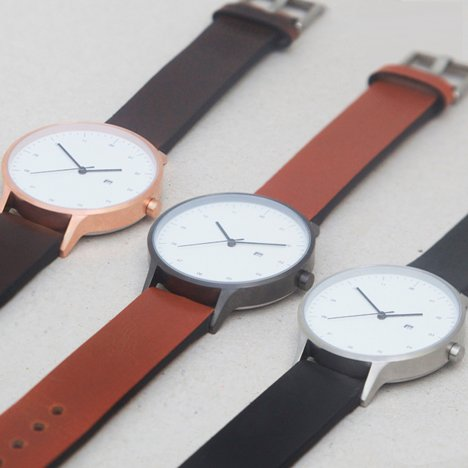 Crowdfunded timepiece Instrmnt 01 launches exclusively at Dezeen Watch Store