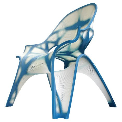 3D-printed chair by Zaha Hadid Architects