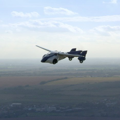 Latest AeroMobil flying car prototype set for Europe's roads and skies