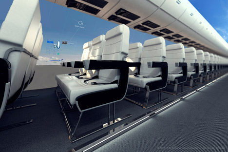 AeroSpace concept cabin by CPI