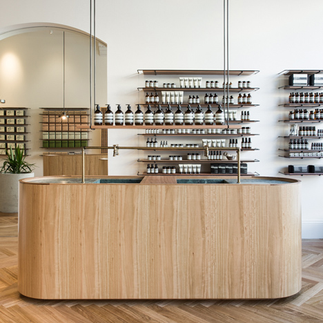 Genesin Studio renovates Victorian shop in Adelaide for Aesop