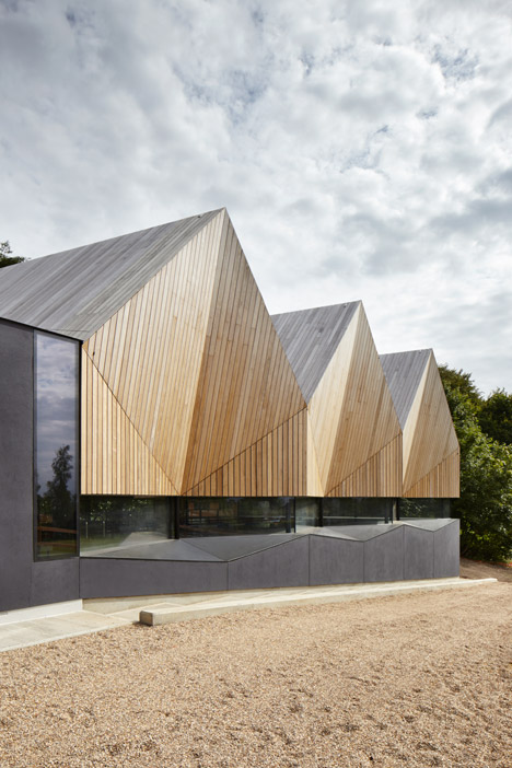 Alfriston School Swimming Pool by Duggan Morris Architects