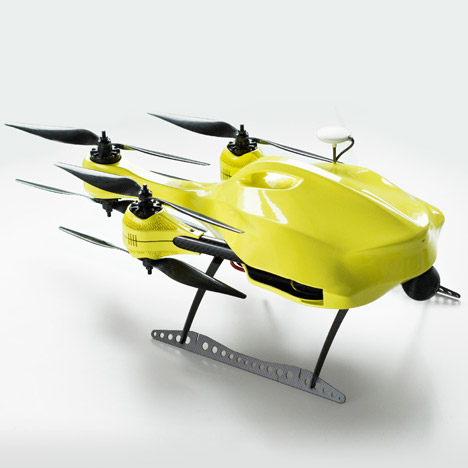 "Ambulance Drone could deliver life-saving equipment ""within one minute"""