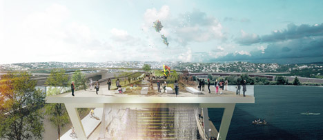 11th Street Bridge Park by OMA and OLIN