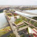 OMA and Olin win competition to design garden bridge for Washington DC