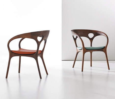 Anne Chair by Ross Lovegrove