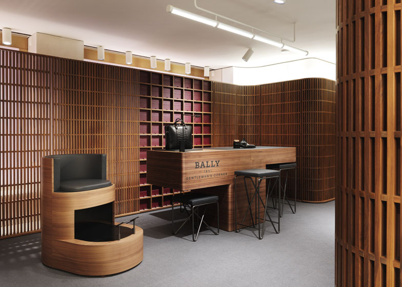 David Chipperfield\'s flagship store for Bally opens in London