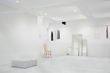 Beige concept store by Nendo