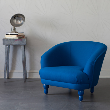 Bethan Gray covers Ella furniture for Workhouse in brightly coloured upholstery
