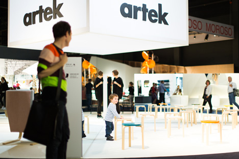 Artek stand at Biennale Interieur 2014